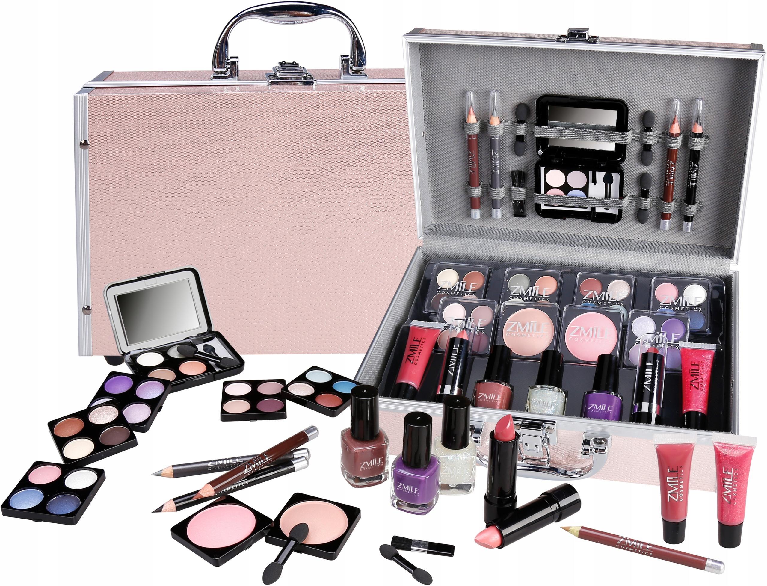 Набор косметики для макияжа в чемоданчике купить в интернет магазине доктор шпиллер косметика купить