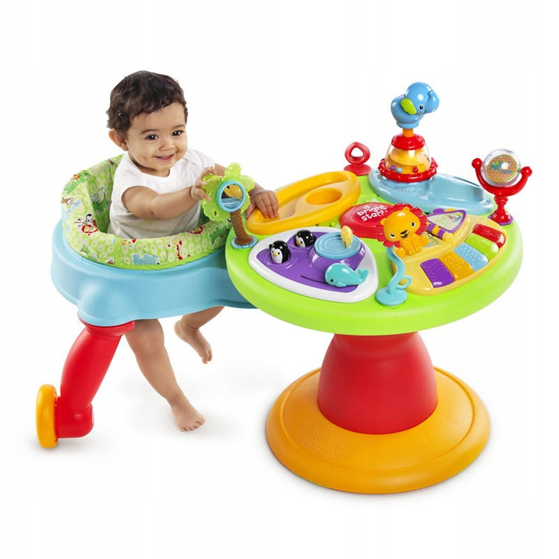 BRIGHT STARTS Table Active Play Center 3v1