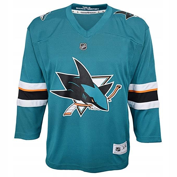Mikina San Jose Sharks Reebok Official NHL L / XL