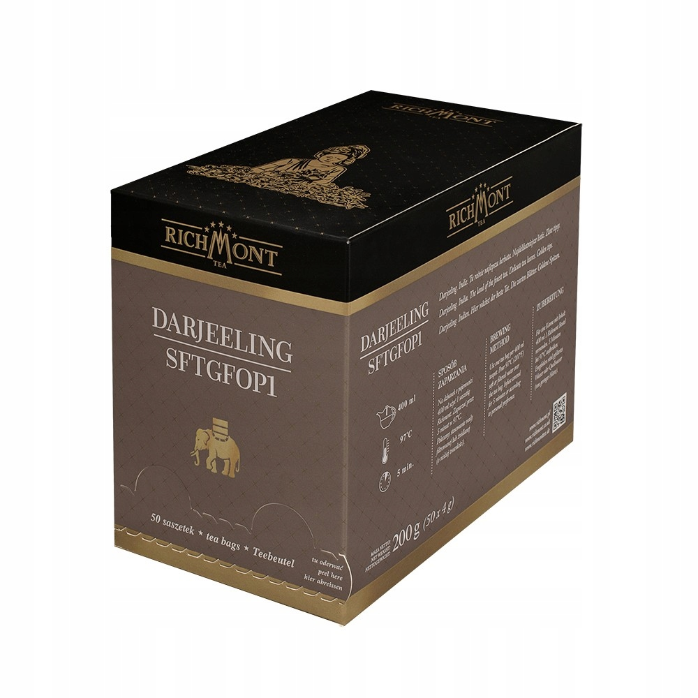 Richmont čaj SFTGFOP1 Darjeeling 50 vrecák