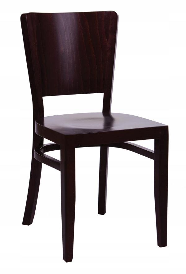 4 KS Drevená stolička KT48 pre jedáleň kuchyňa