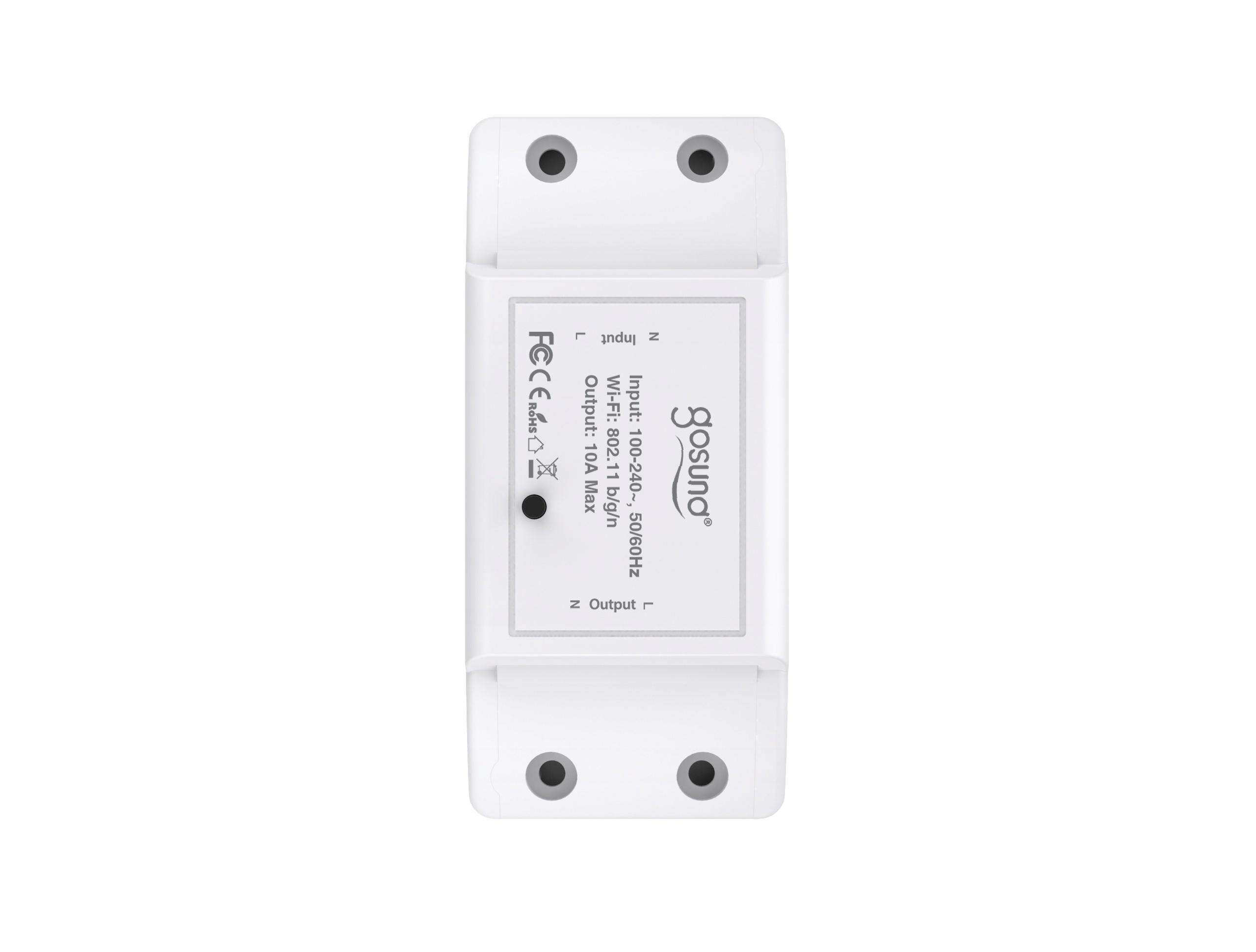 Przekaźnik Włącznik WiFi GOSUND TUYA IOS ANDROID Liczba kanałów łączności 1