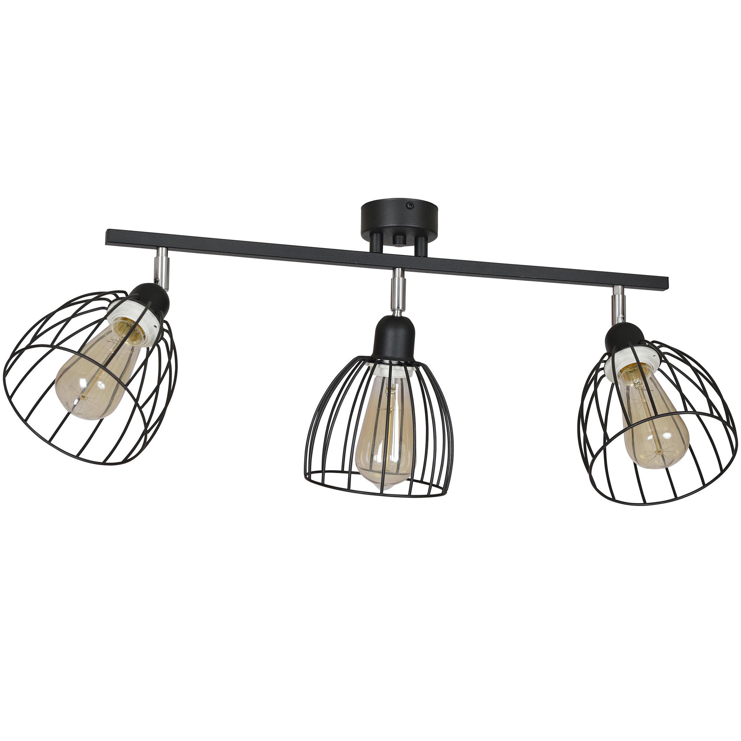 Kovové stropné SVIETIDLO Prívesok svetlo, ROČNÍK Drôtu, LED