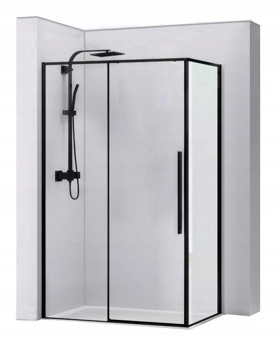 SOLÁRNA sprcha BLACK 80X100 RI