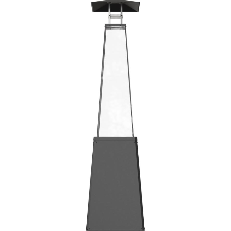 plynový ohrievač kúrenie dáždnik čierny UMBRELLA výška 217 cm