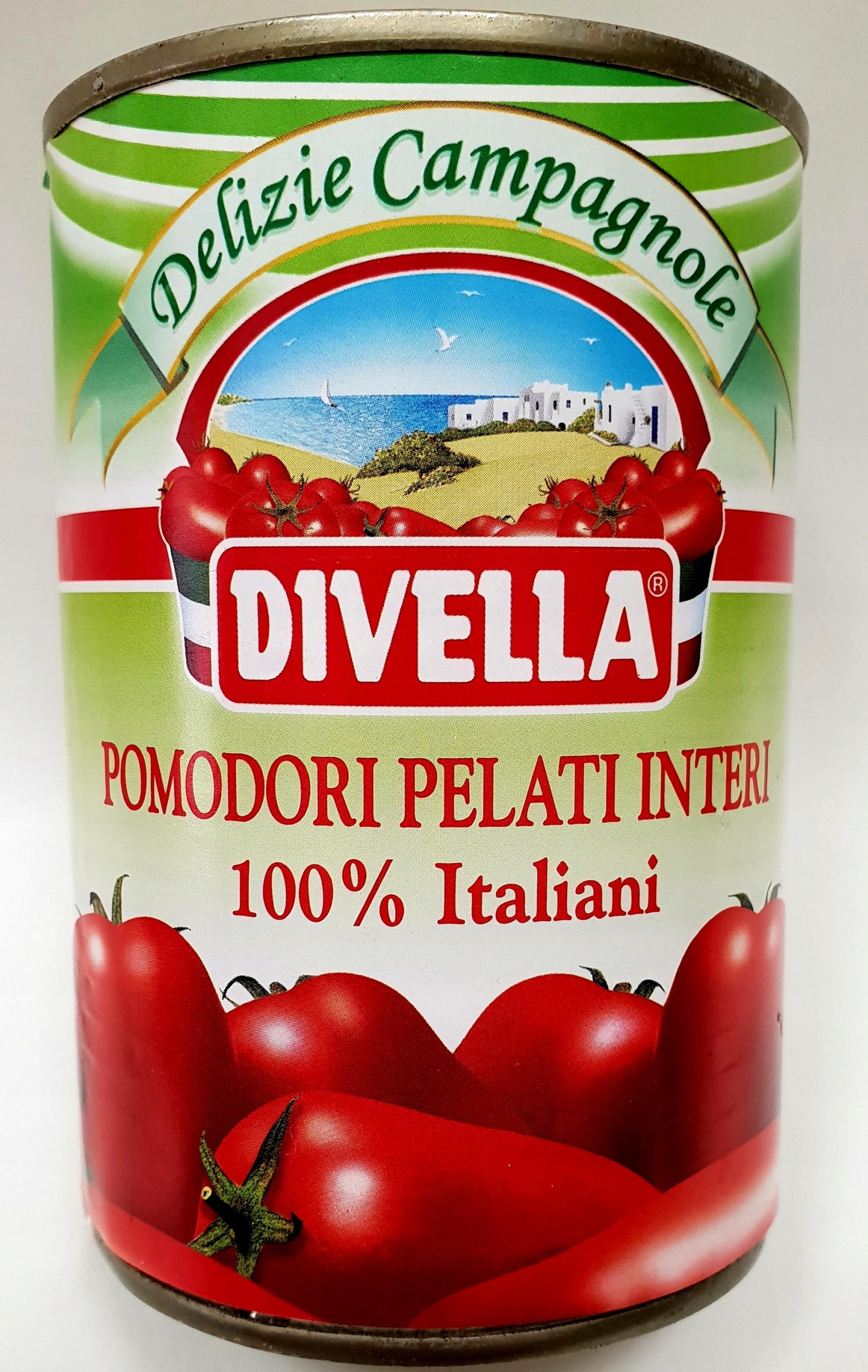 Pomidory Pelati bez skóry z rynku włoskiego 400 gr