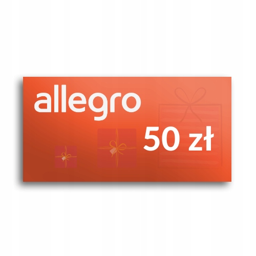 Kod Podarunkowy Allegro 50 Zl 8725058149 Allegro Pl