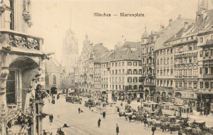 Munchen. Marienplatz 191-?
