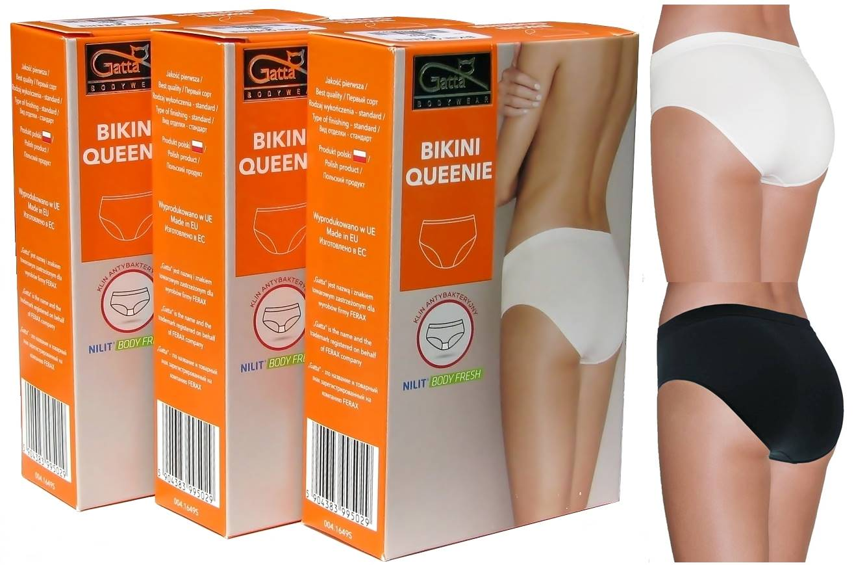 Gatta Figi Bezszwowe - Queenie Bikini -3-PAK r.S