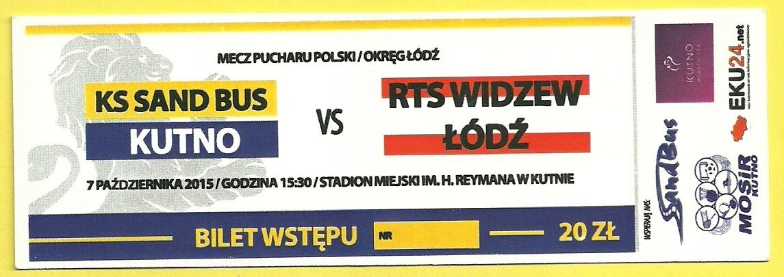 Купить KS Кутно  Видзев Лодзь 07102015 на Eurozakup - цены и фото - доставка из Польши и стран Европы в Украину.