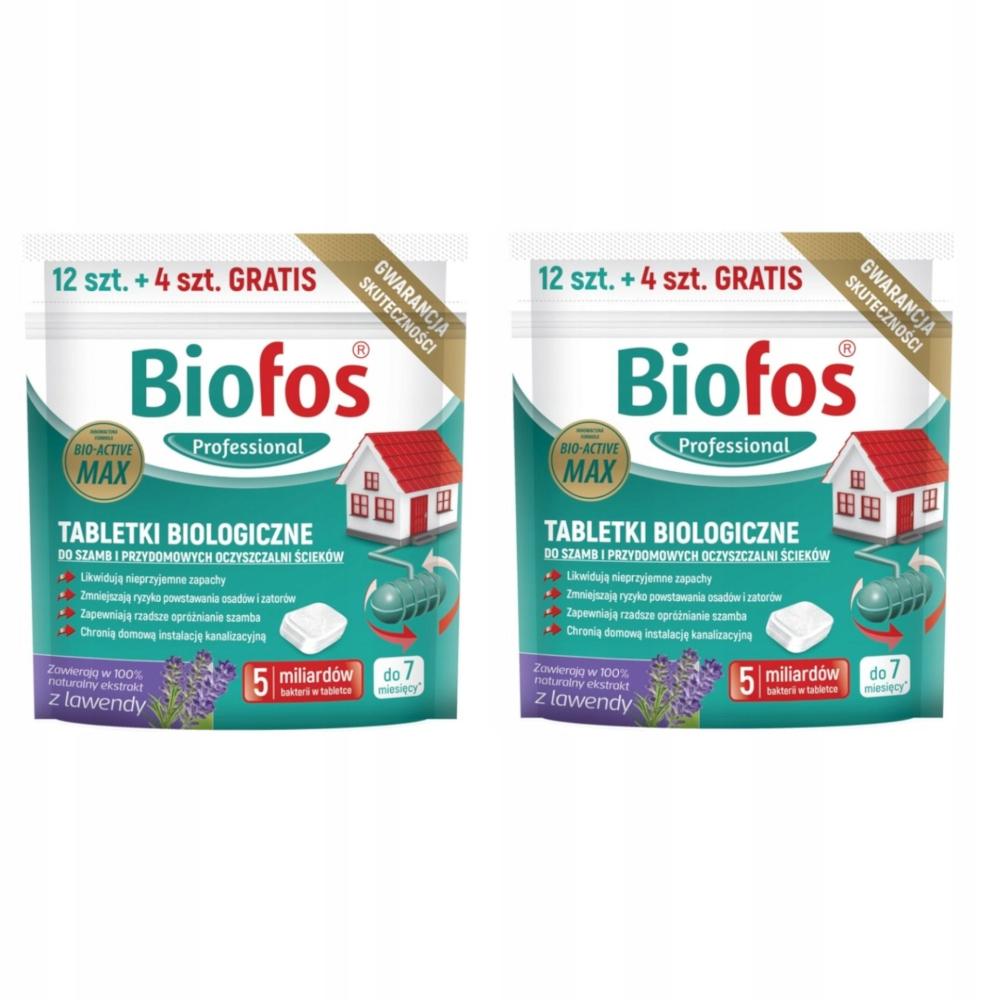 BIOFOS Таблетки Биологического Очистного сооружения 32 шт
