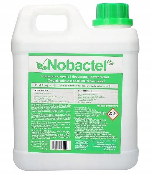 Дезинфекция Nobactel 2l удаляет вирусы и бактерии