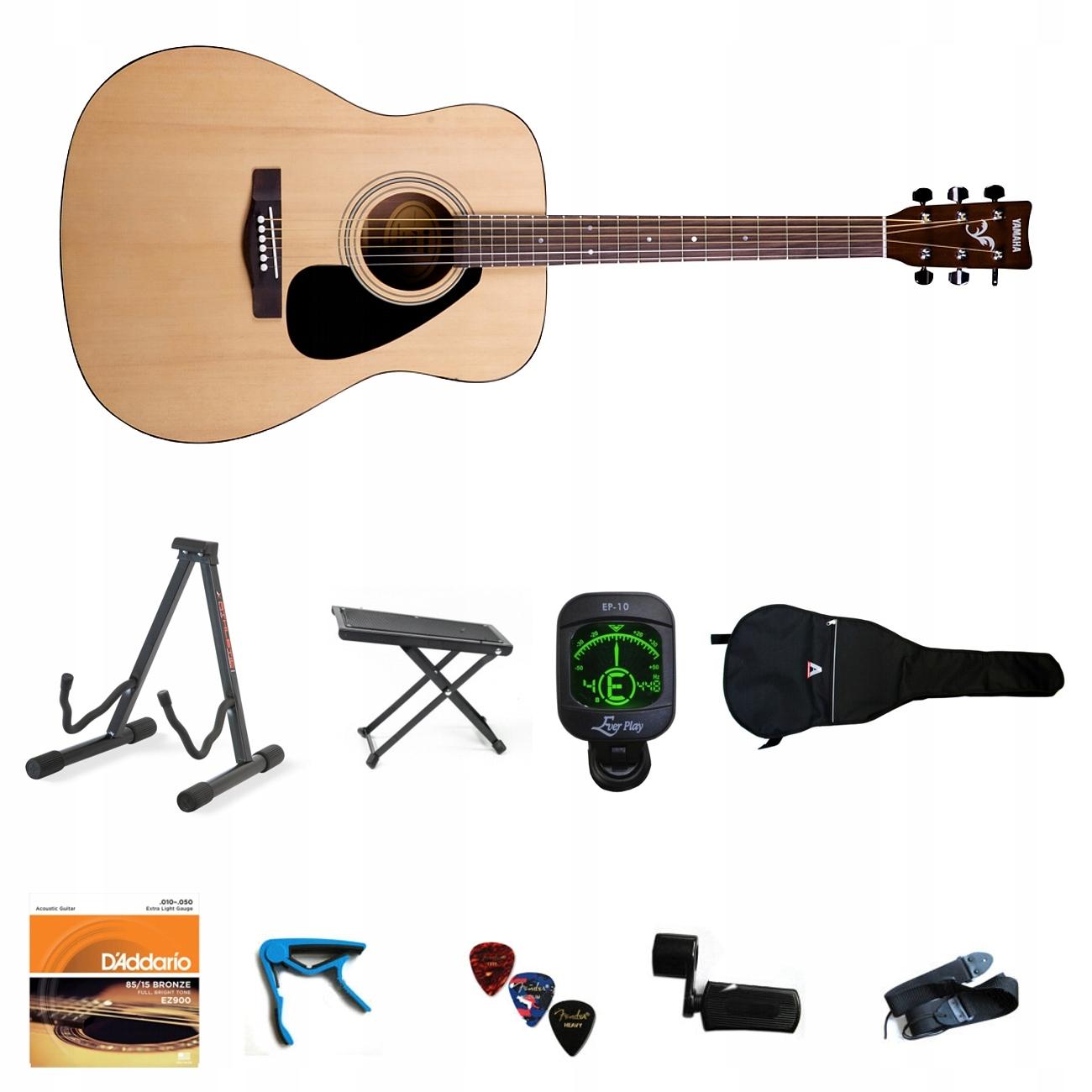 Item Guitar Acoustic YAMAHA F-310 Natural Pack XL