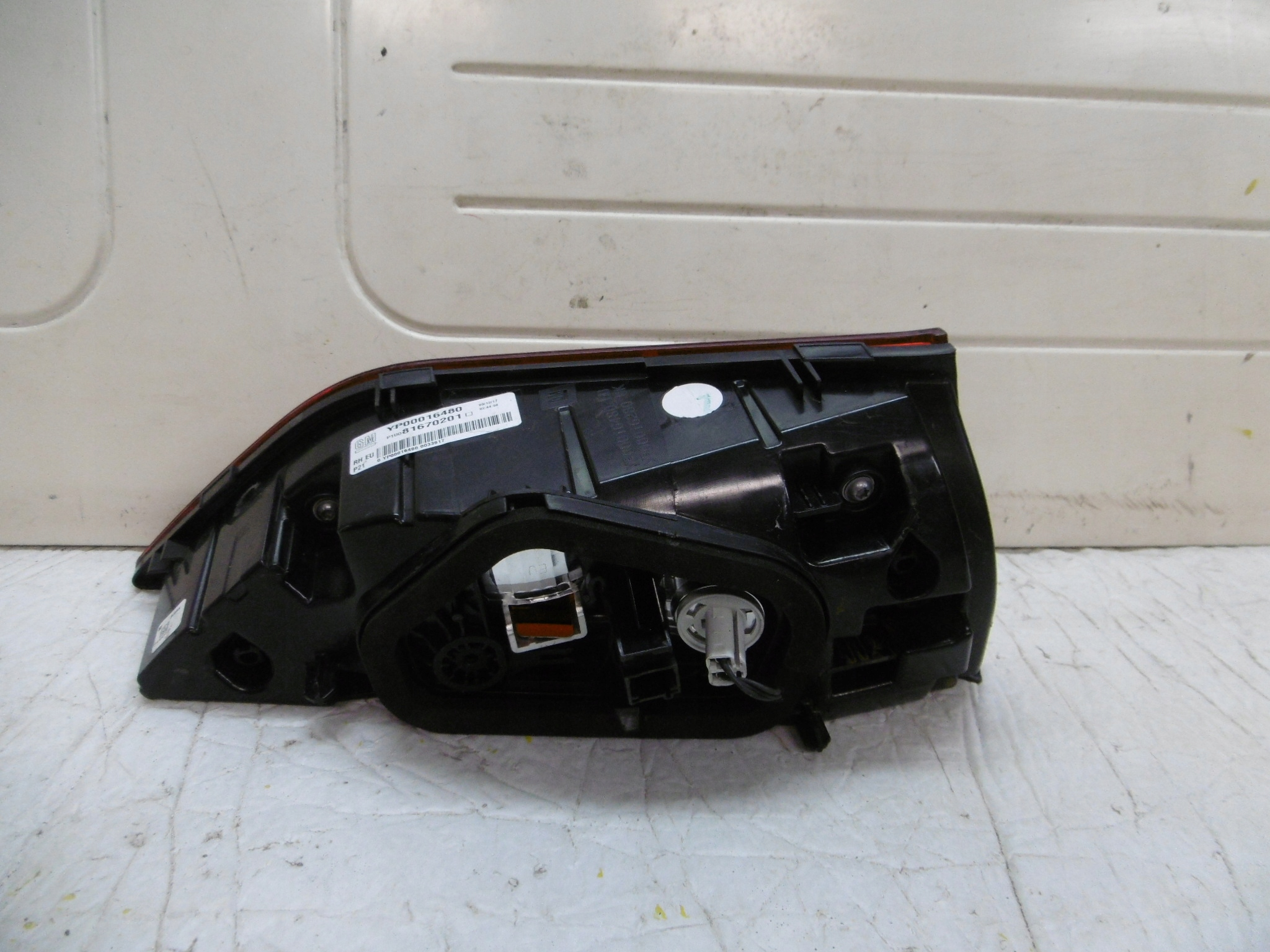 Picture of LIGHT (LAMP) FOR TRUNK REAR OPEL GRANDLAND