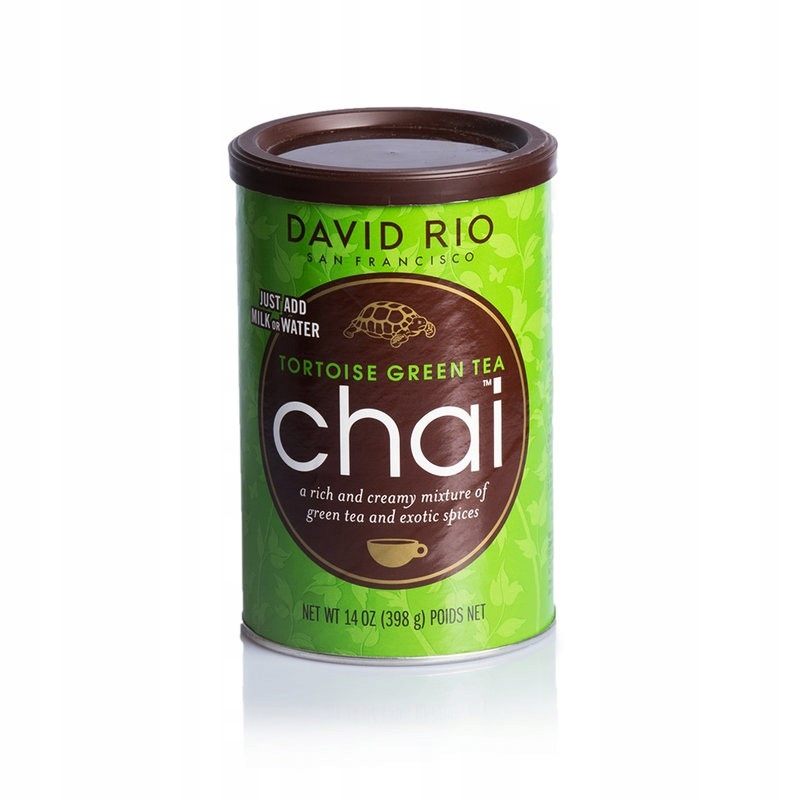 David Rio Zelená Korytnačka CHAI Latte z Kávy 398g