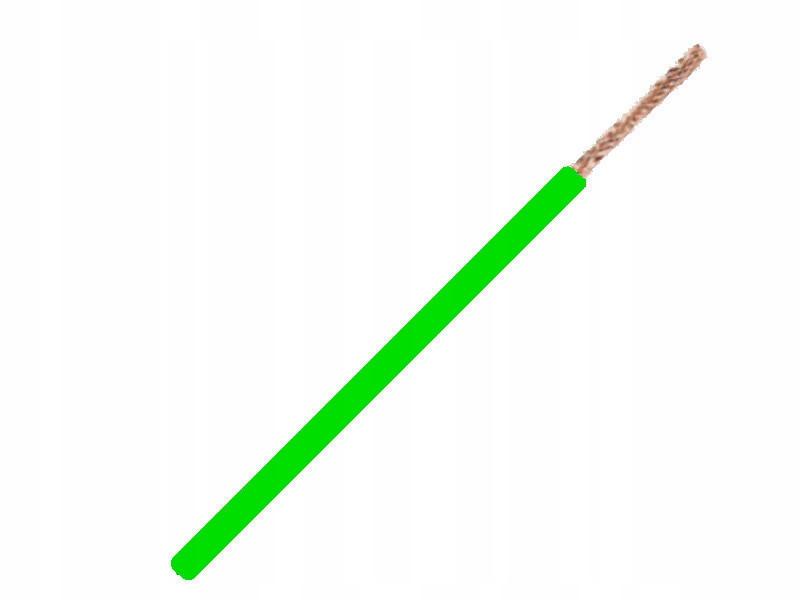 кабель кабель flry-b 1x0 75mm 0 75mm2 зеленый 5m