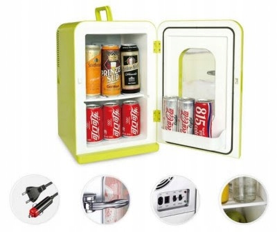 Picture of 12V REFRIGERATOR MINI -15L /17PUSZEK Z FRONT HOLE