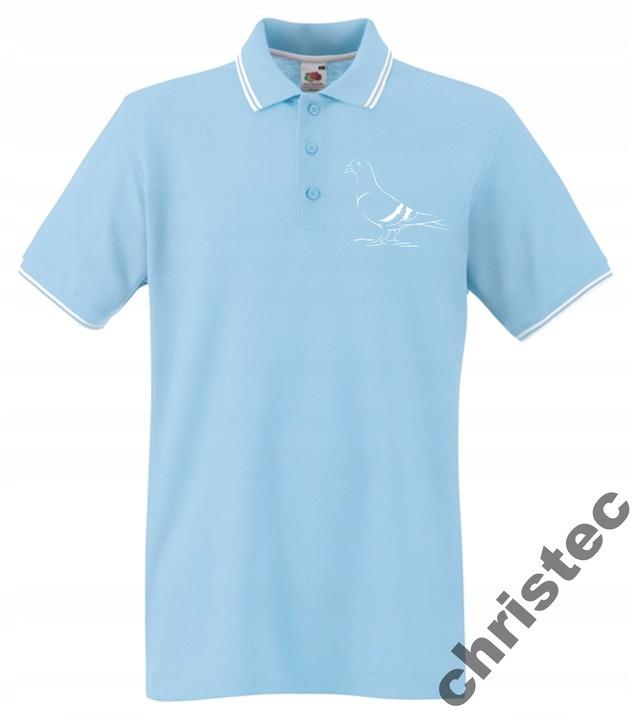 POLO tričko s výšivkou pre chovateľov holubov