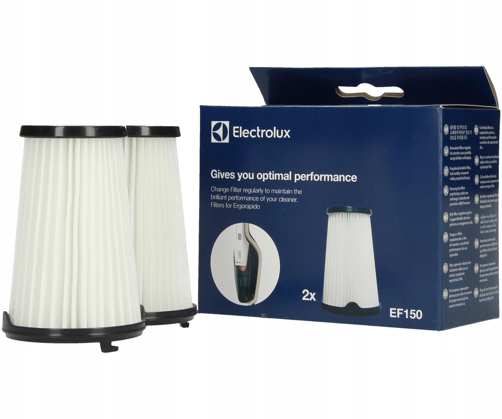 odkurzacz electrolux ergorapido filtry