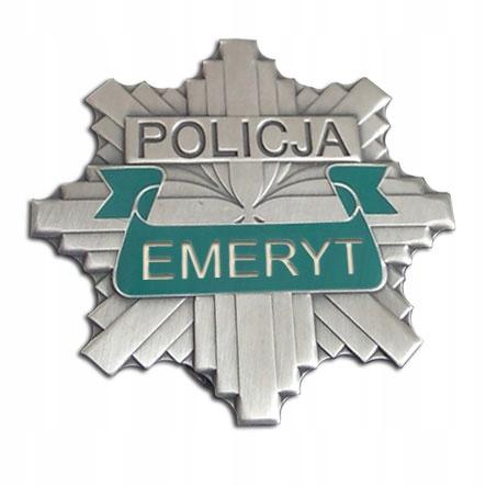 ODZNAKA Policyjna EMERYT| GWIAZDA POLICJA 997