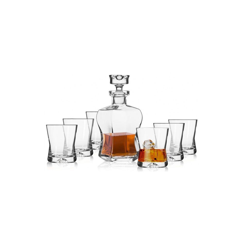 Komplet do whisky Signature KROSNO 6+1 karafka
