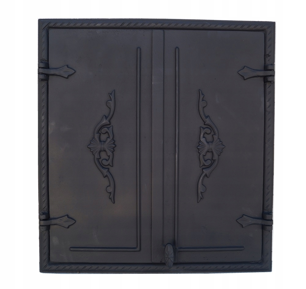 liatinové dvere do udiarne obdĺžnikové 60x64cm