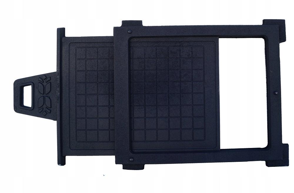liatinový tlmič, liatinový posúvač 36,5 cm x 39,5 cm Kód produktu LARGE SHAFT LARGE CAST IRON gate gate valve
