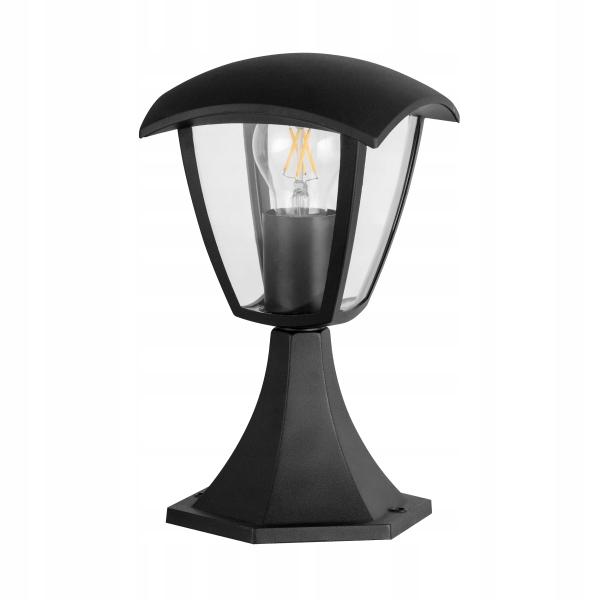 LAMPA GARDEN Výška STOJÍ STÔL Black LED