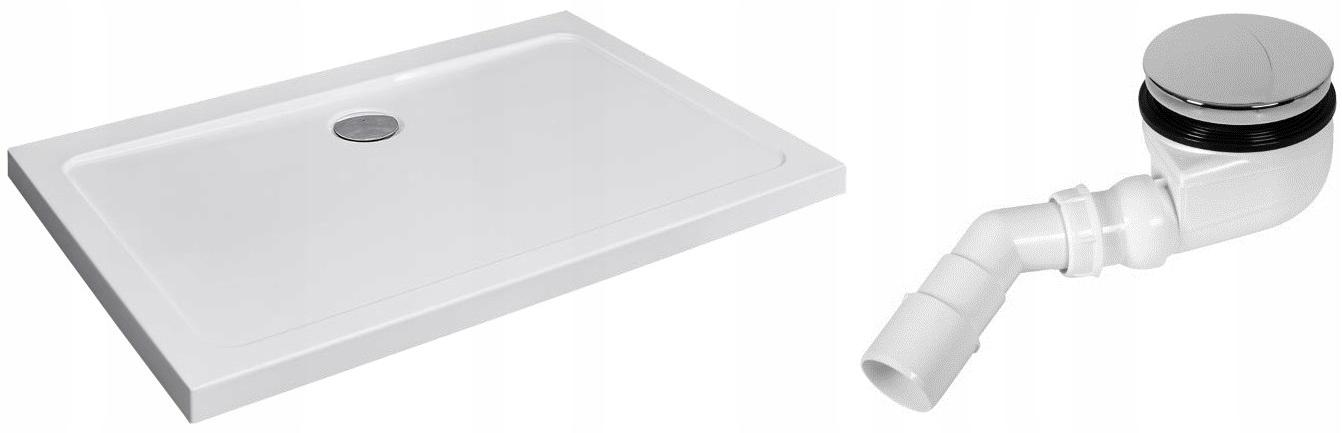 RADAWAY Doros Plus D obdĺžniková sprchová vanička 120x100