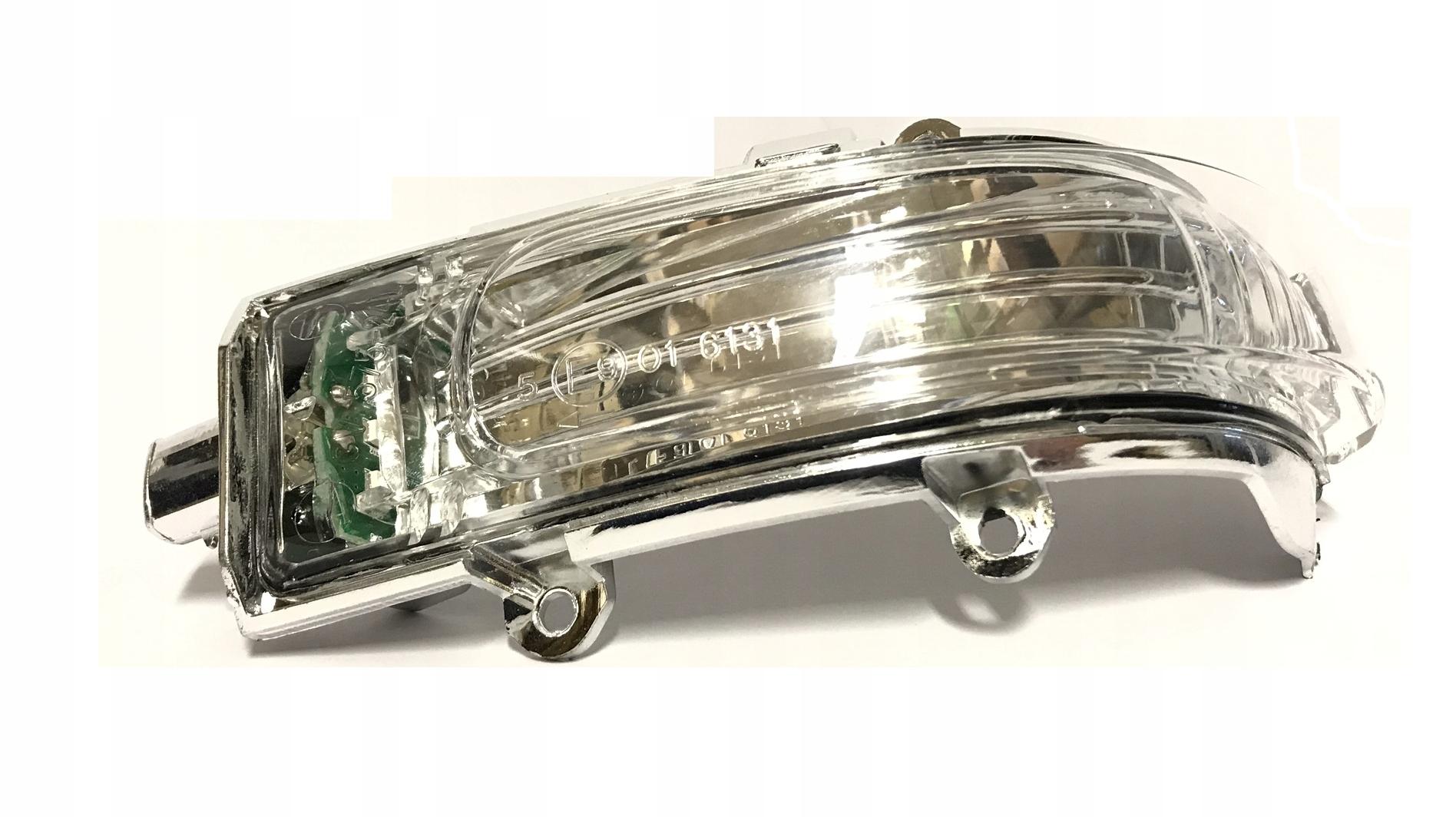 toyota auris 10- led новый поворотник w зеркало левый
