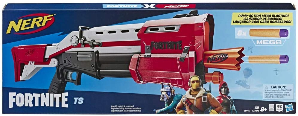 8 pištoľ na pušky NERF Mega TS BLASTER FORTNITE