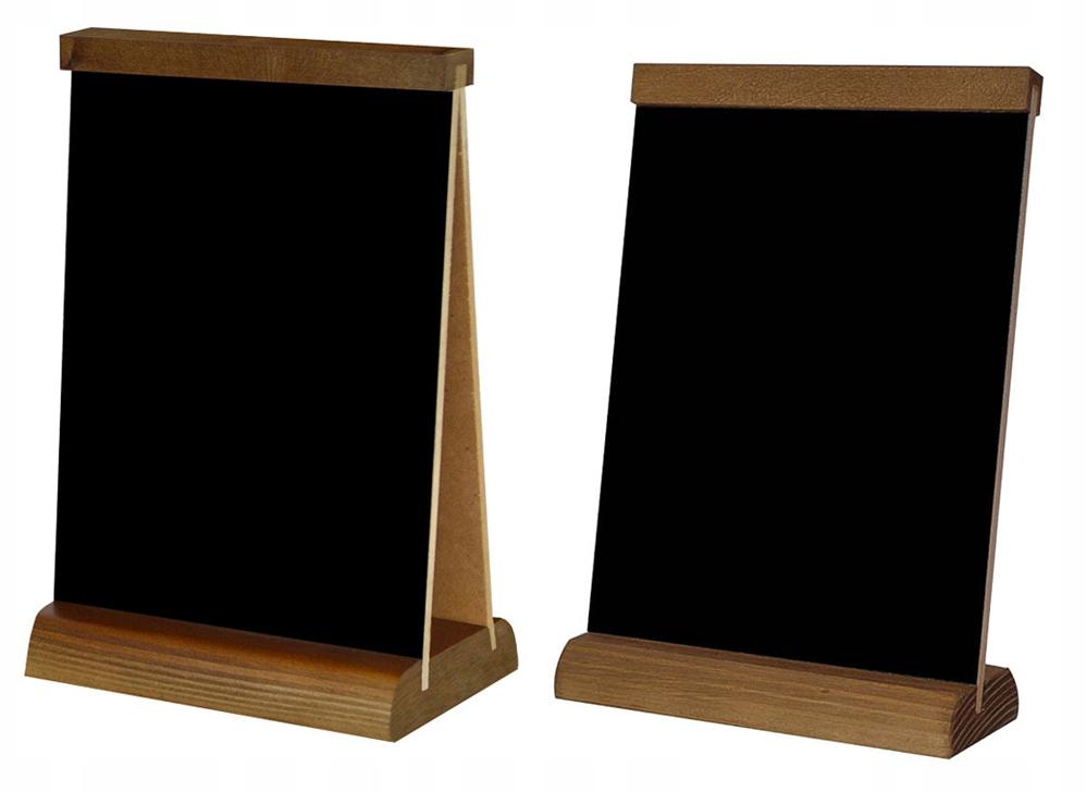 Čierny tím písanie menu A4 veľké 6 návrhov