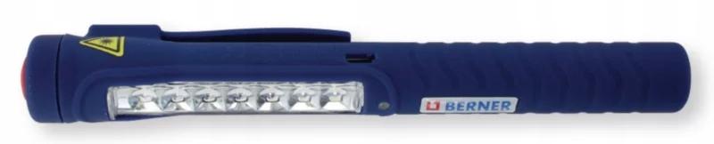 BERNER LAMPA LATARKA WARSZTATOWA LED Pen Light 7+1