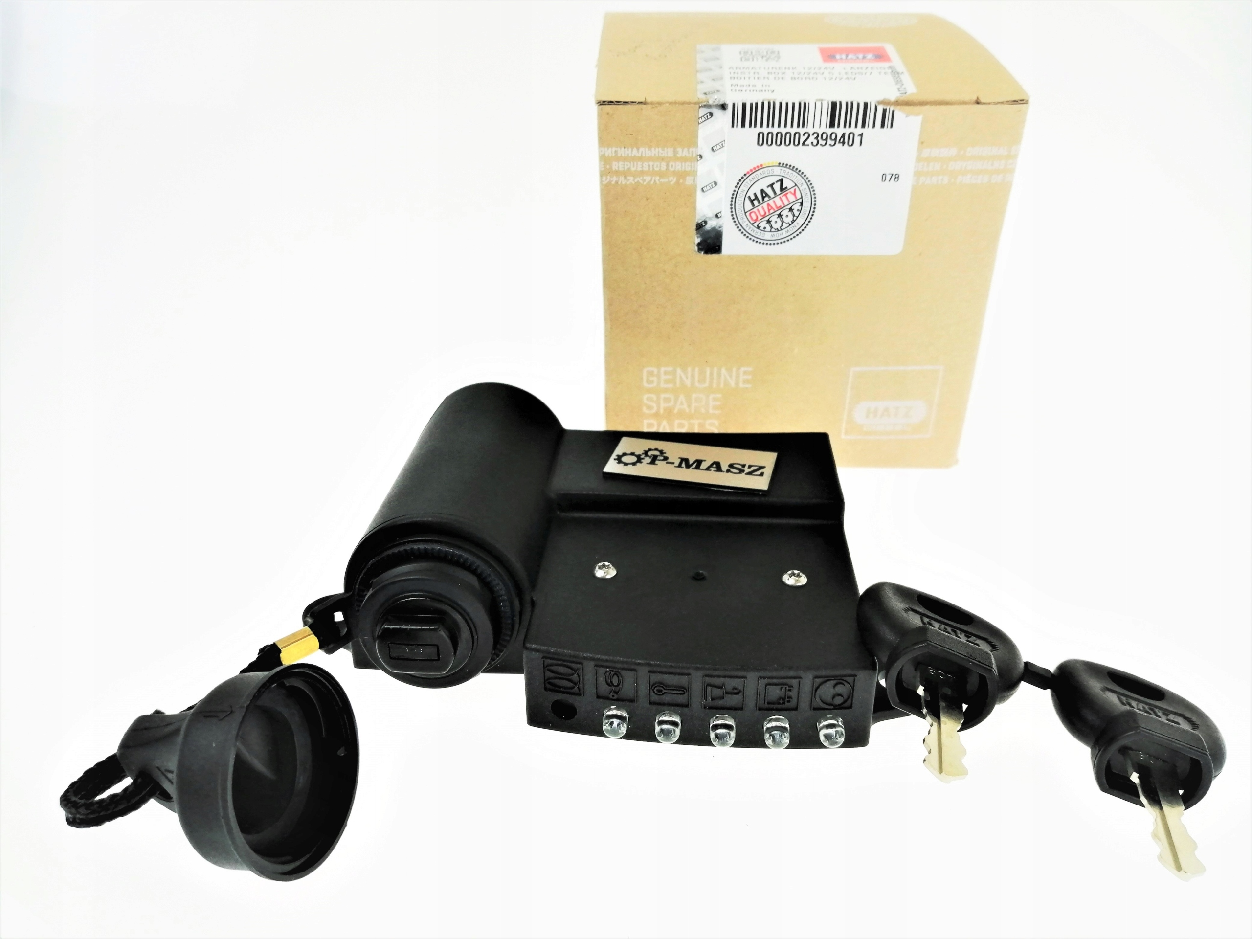 Разветвитель Hatz 12В с 5 диодами 02399401