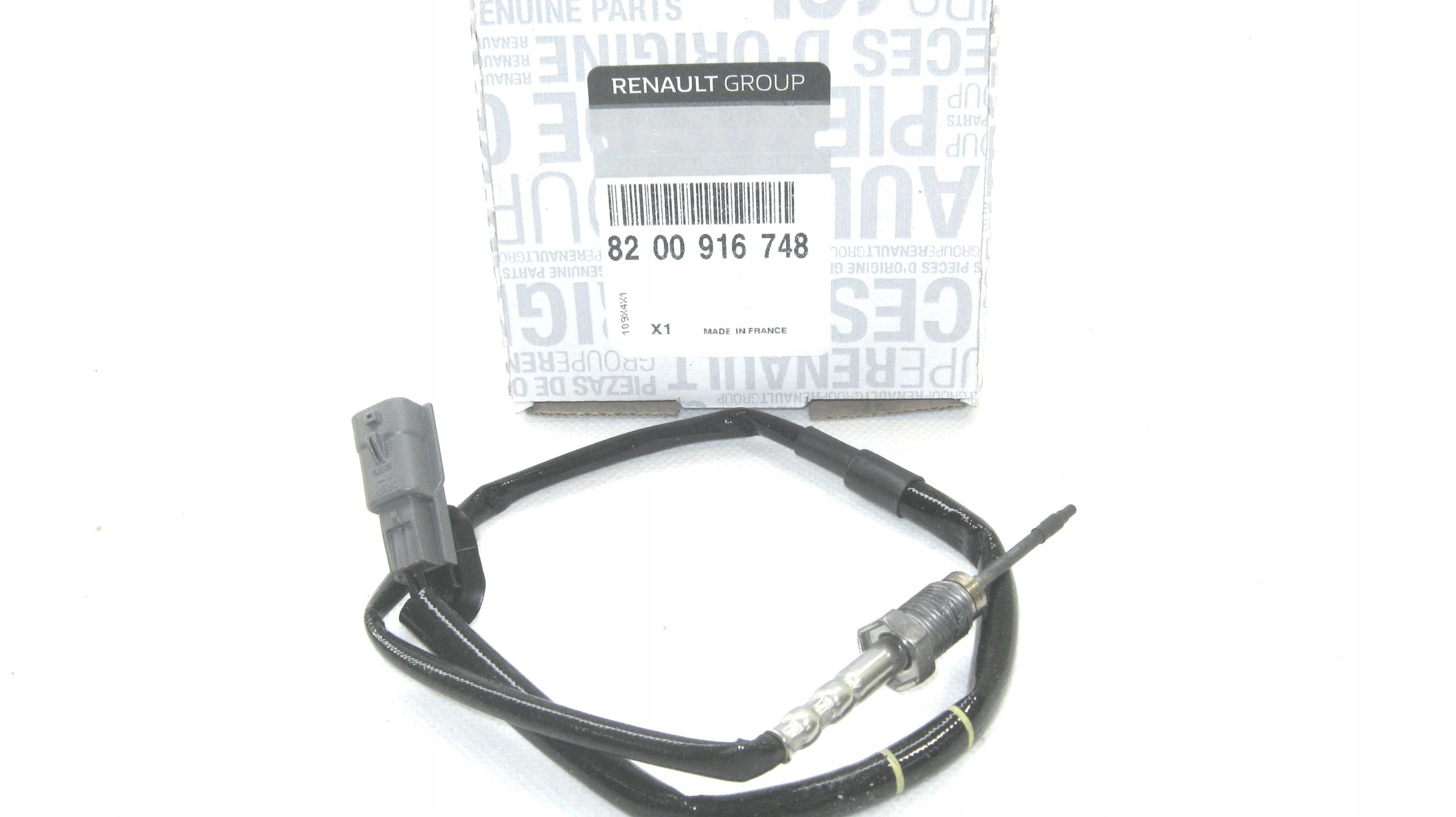 датчик температуры выхлопных газов movano master 23 dci