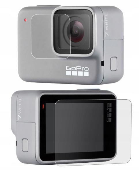 Szkło Ochronne Gopro Hero 7 White Obiektyw + Ekran