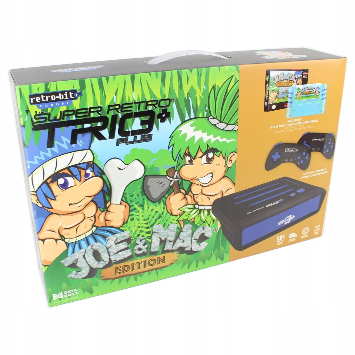 Item Retro-bit Super Retro Trio+ HD Joe&Mac Set