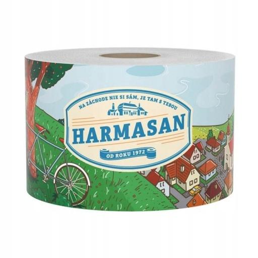 Туалетная бумага Harmasan JUMBO extra длинный природа