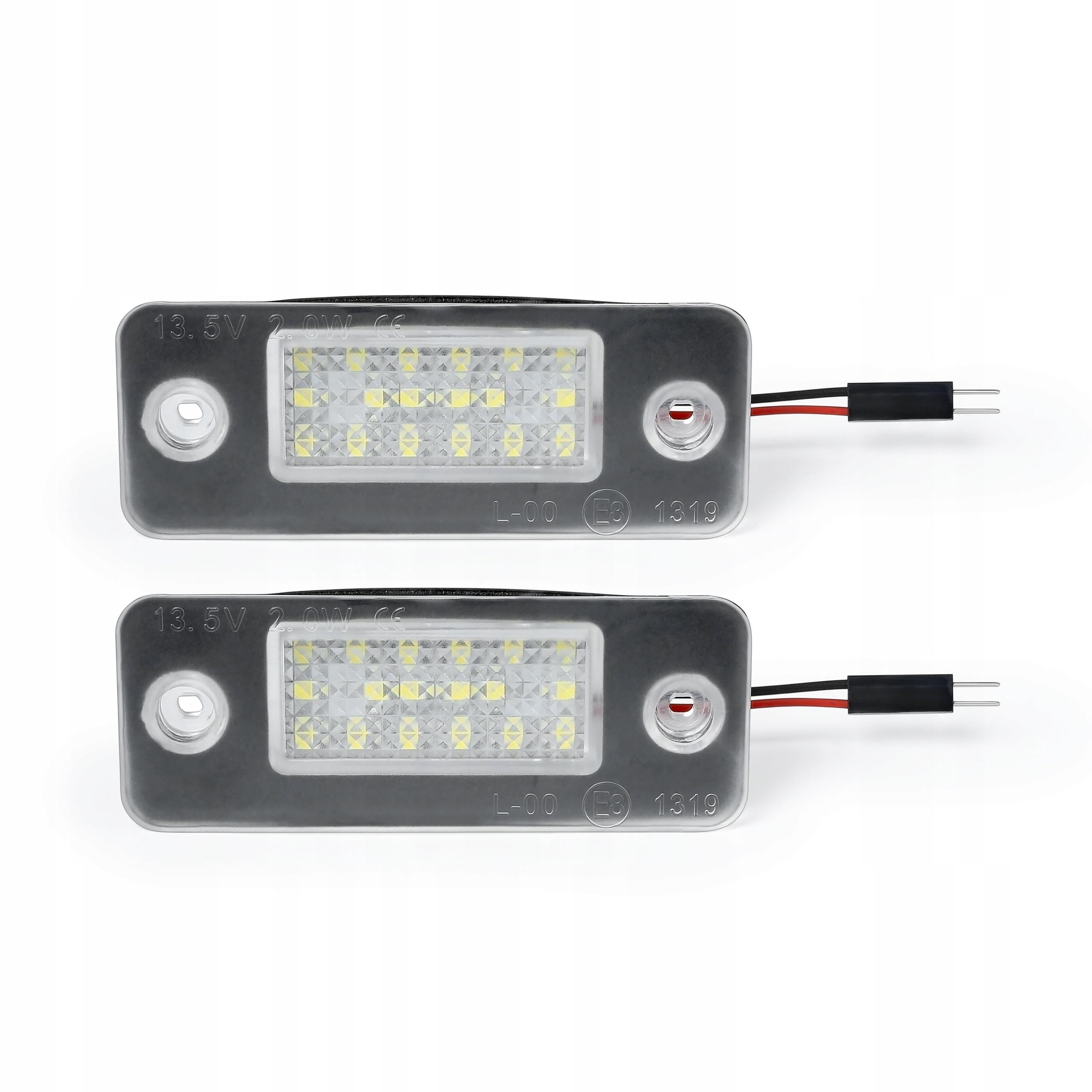 лампы led освещение массива audi a8 d3