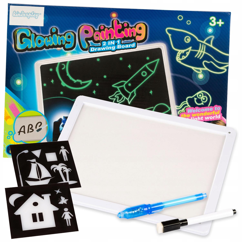 Duza Magiczna Tablica Do Rysowania Swiatlem 8752030358 Allegro Pl