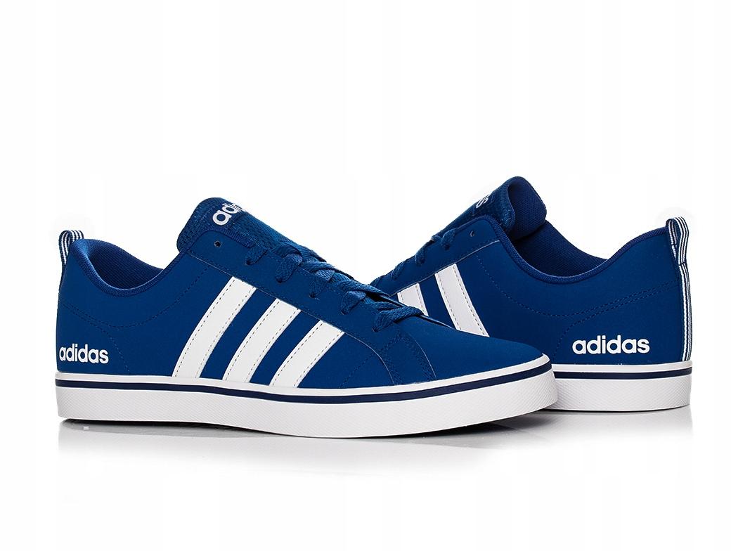 Buty Adidas Męskie Vs Pace F34611 Niebieskie Ceny i opinie