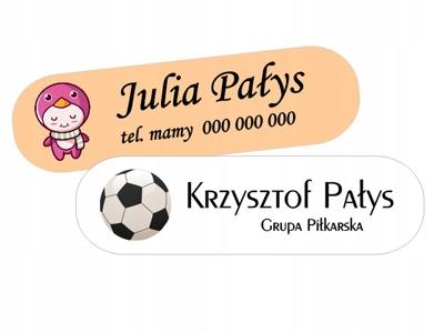 ŠTÍTOK NÁZVOV ŽIAROVKY Menovky 100 ks
