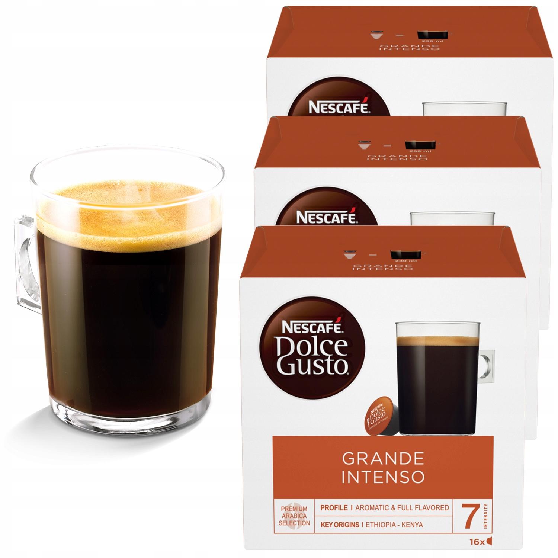 Nescafe Dolce Gusto Grande Intenso 48 sztuk 3x16
