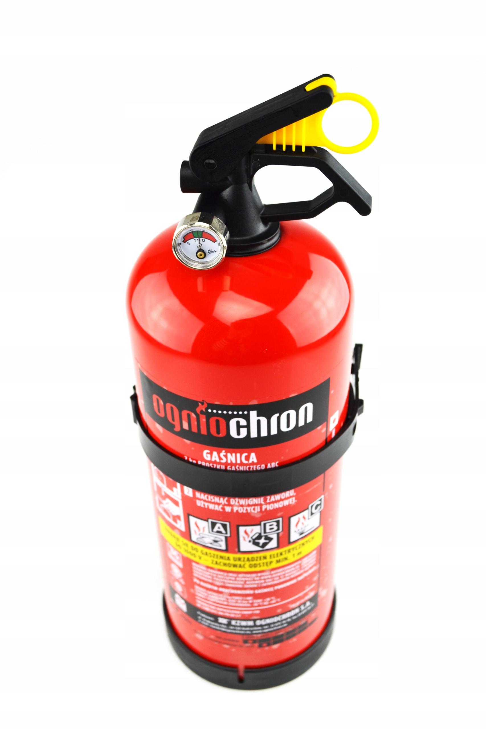ABC порошковый огнетушитель 2 кг + вешалка