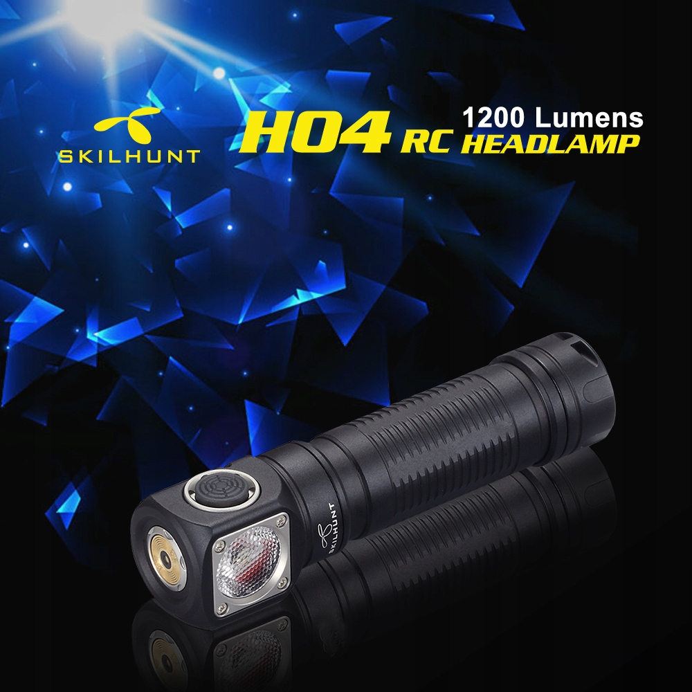 LATARKA CZOŁOWA LED SKILHUNT H04 RC XM-L2 U4 1200L Kod producenta H04