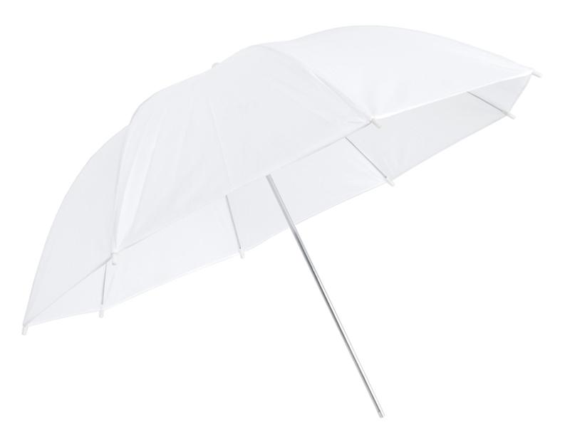 Купить Зонт 2в1 110 см бело-серебристый рассеивающий на Otpravka - цены и фото - доставка из Польши и стран Европы в Украину.