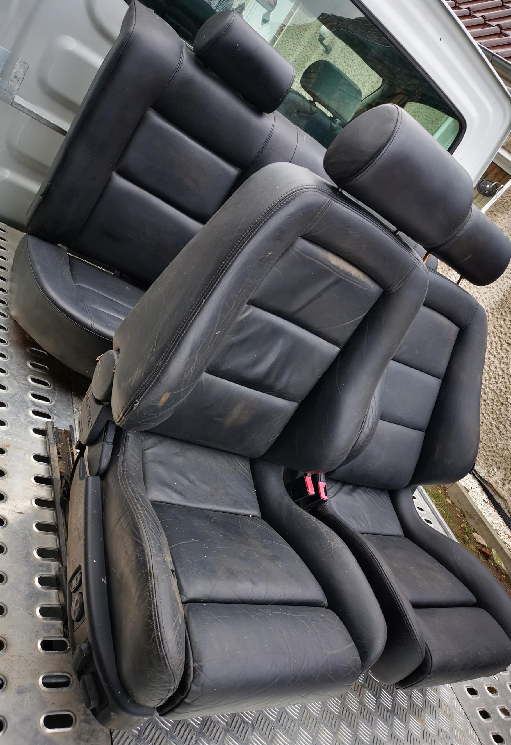 recaro кресла + диван комплект audi a8 d2