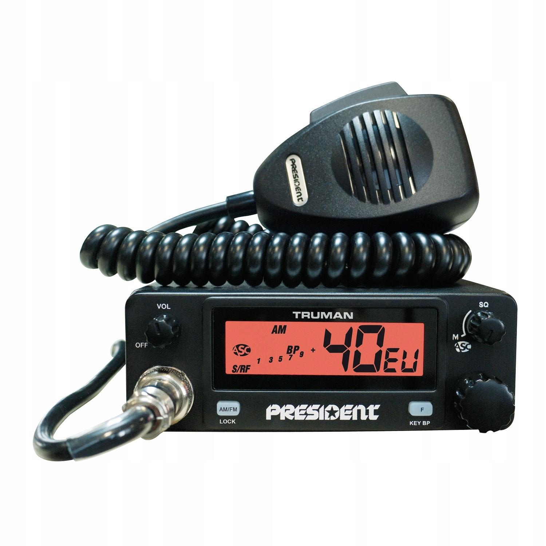 Купить PRESIDENT TRUMAN ASC низкая CB-радио, простое обслуживание на Otpravka - цены и фото - доставка из Польши и стран Европы в Украину.