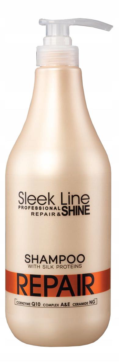 STAPIZ Sleek Line Repair Szampon z Jedwabiem 1L