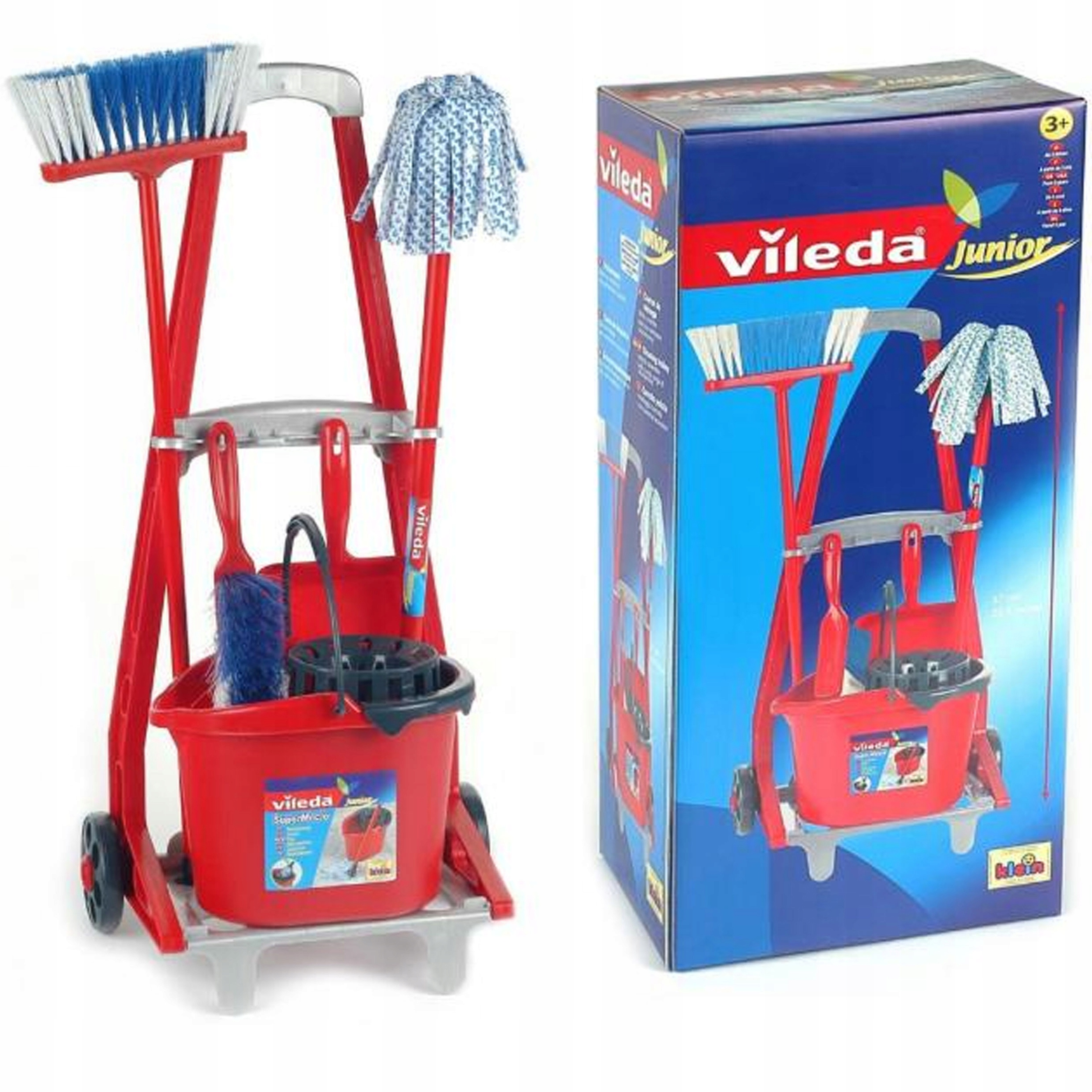 KLEIN VILEDA TOLLEY CLEANING SET + PAIL